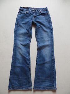 Levi-039-s-529-Bootcut-Jeans-Hose-W-29-L-30-Kult-Waschung-Vintage-Denim-Gr-36