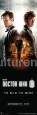 TELEVISION POSTER Doctor Who The Day of the Doctor November 23 2013 BBC 12x36