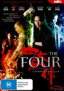 The-Four-FanAsia-NEW-DVD-Region-4-Australia
