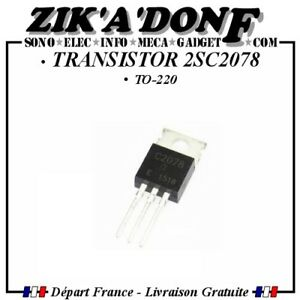 TRANSISTOR-2SC2078-C2078-TO-220-Expedie-depuis-la-France