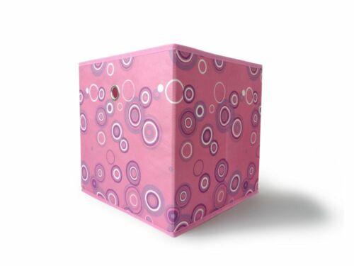 Faltbox Faltkiste Regalkorb Regalkiste Regalbox Aufbewahrungsbox Korb Kreis Desi