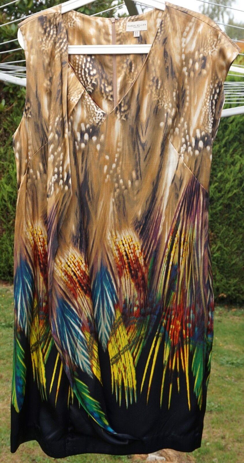 Robe de Marque sans Manche Karen Millen UK avec Ceinture