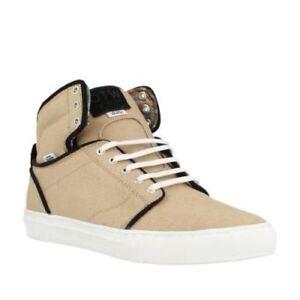 42771971f9 Vans Alomar (Textile) Khaki White Men s Classic Skate Shoes