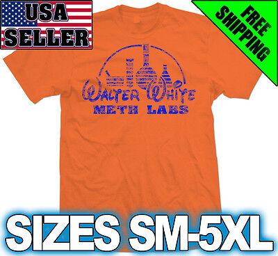 Heisenberg Breaking Walt Bad White T-shirt Sm-5XL Big