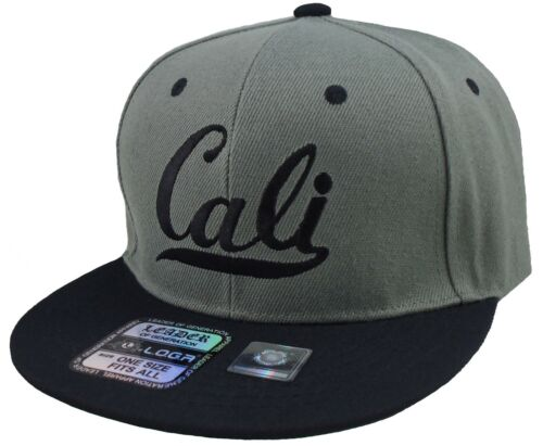 NEW CALI FLAT BILL SNAPBACK HAT CALIFORNIA REPUBLIC CAP MULTIPLE COLORS