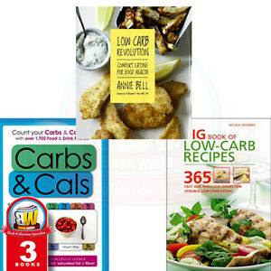 Low-Carbs-Collection-3-Books-Set-Eating-for-Good-Health-Weight-Loss-Carbs