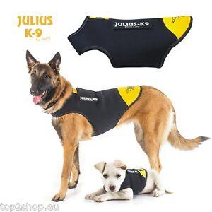 Julius-K-9-IDC-Neopren-Regen-Mantel-fuer-Hunde-hochwertiger-Hundemantel-NEU