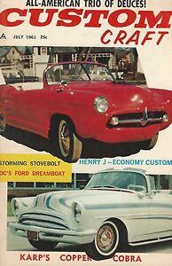 1961 Custom Craft 8 July 1958 1959 Chevrolet Impala Convertible