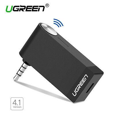 Ugreen Récepteur Bluetooth 4.1 Sans Fil avec Microphone intégré et Sortie Stéréo