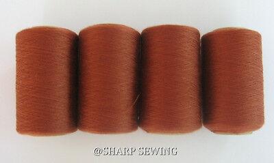 4tubes Spun Polyester Quilting Serger Sewing Thread#715