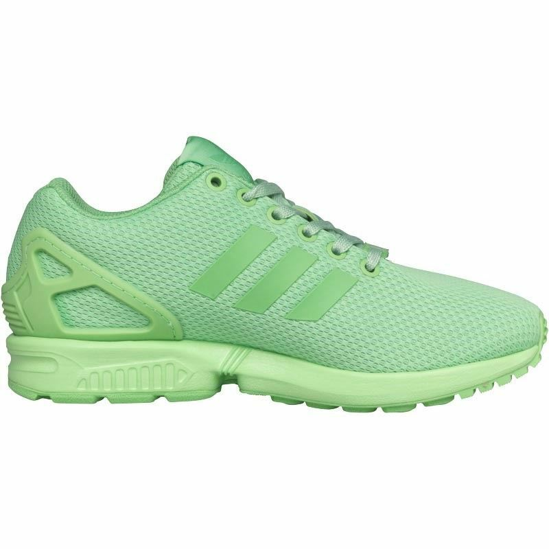 adidas - ZX FLUX femmes Trainer Green gris