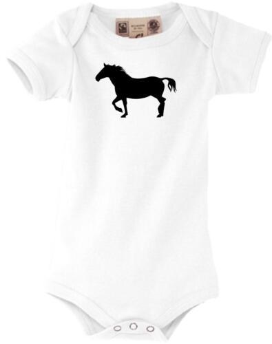 Pony Pferd Baby Body lustige Tiermotive