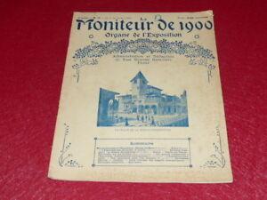 REVUE-EXPOSITION-UNIVERSELLE-1900-LE-MONITEUR-DE-1900-N-14-MAI-1900