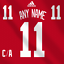 Detroit-Red-Wings-Adidas-Jersey-Custom-Any-Name-Any-Number-Pro-Lettering-Kit miniature 1