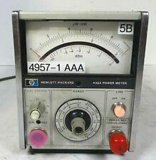 Hp Hewlett Packard 435a Analog Power Meter Free Shipping