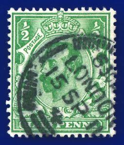 1911-SG322-d-Green-Die-A-N1-1-Fine-Used-London-NPB-15-SP-11-A-amp-H-1590-aihb
