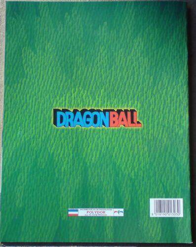 Panini Bola de Drac Empty album complete stickers set DRAGON BALL 1999