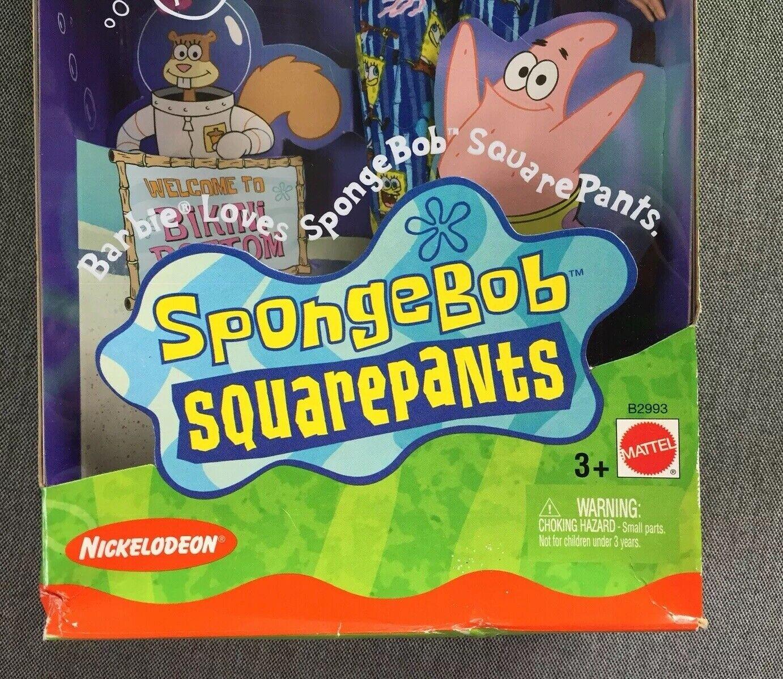 Spongebob Spongebob Spongebob Squarepants Barbie, New, 2002, Mattel 7fb05a