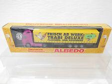 eso-4173 Albedo 1:87 Volvo Sattelzug Trabi Bier sehr guter Zustand