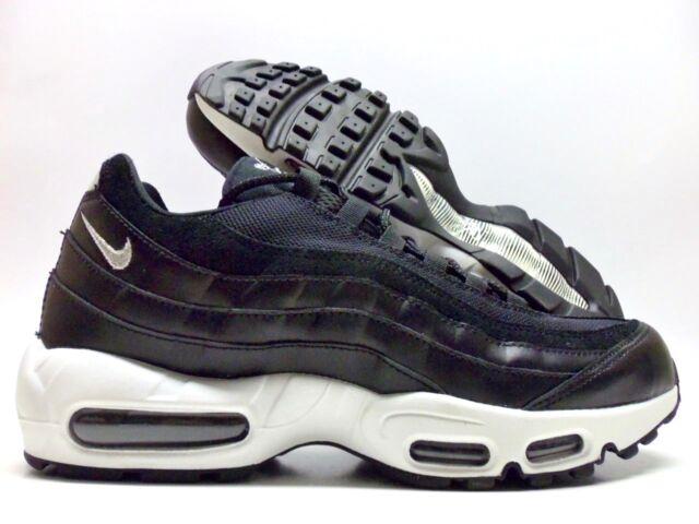 check out d6e44 9c318 Nike Air Max 95 PRM Rebel Skulls Black Chrome off White 538416-008 Mens 9.5