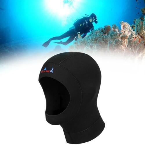 Unisex Sport Neoprene Diving Surfing Hat Cap Neck Cover Winter Warm Hood