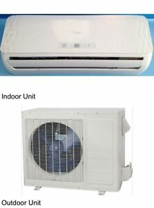midea ductless split ac 9k btu heat pump heating amp ac image is loading midea ductless split ac 9k btu heat pump