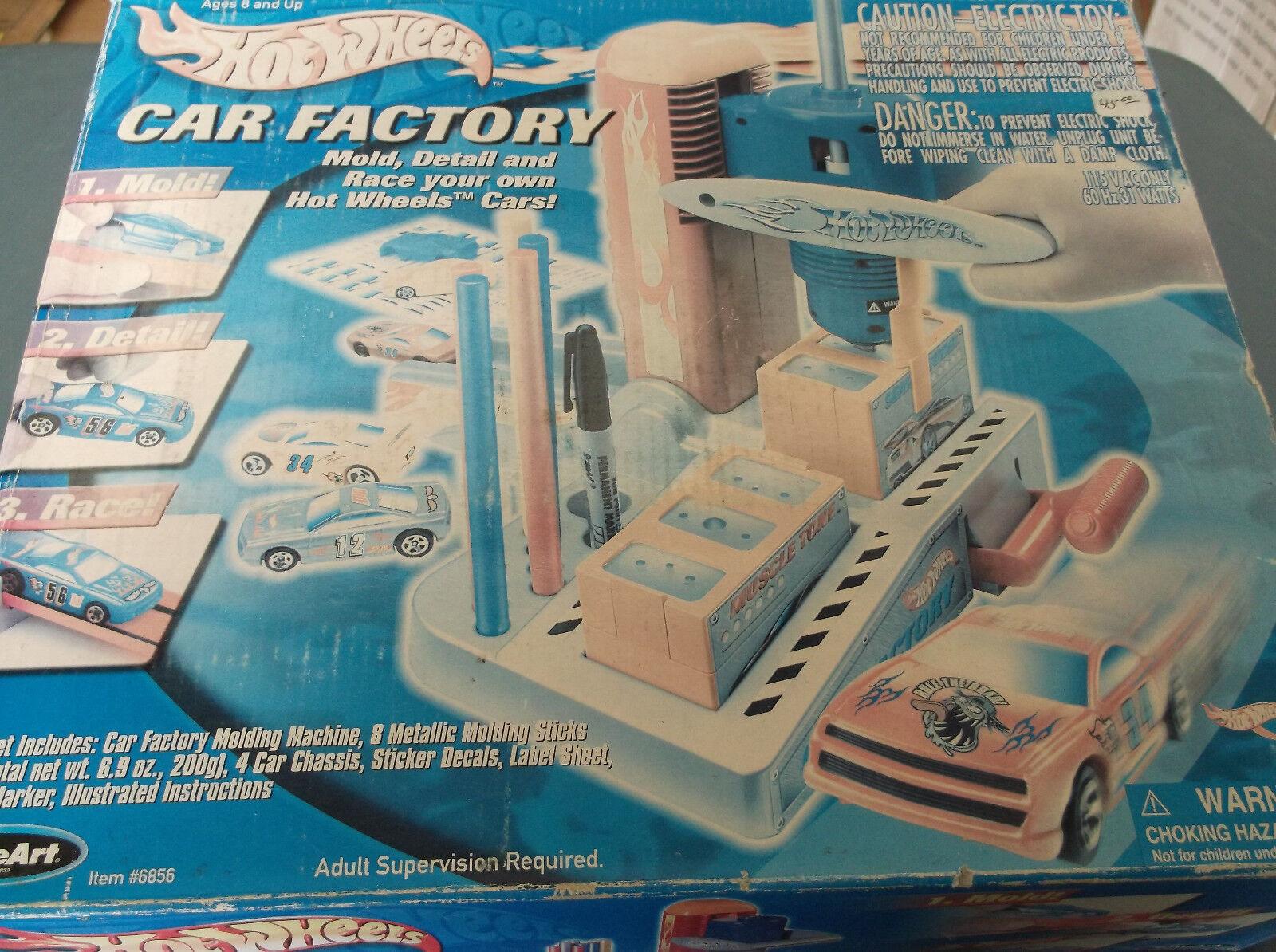 Hot Wheels Auto Fábrica Molde Set