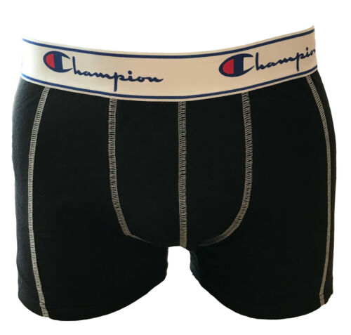 S-XXL Schwarz Grau Champion Boxershorts Herren 2er Pack Unterwäsche Shorts Gr