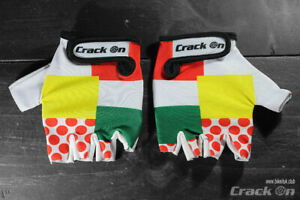 Tour de France Combination Classification Cycling Half Finger Mitts Gloves