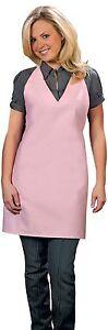 Daystar-Aprons-1-Style-300NP-No-pocket-v-neck-tuxedo-apron-Made-in-USA
