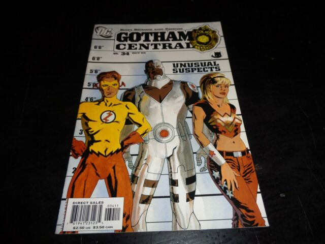 DC COMICS GOTHAM CENTRAL POLICE #34 OCT '05