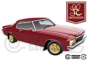 New-Collectable-Holden-Monaro-HX-Limited-Edition-LE-MEGA-SIZE-Front-View