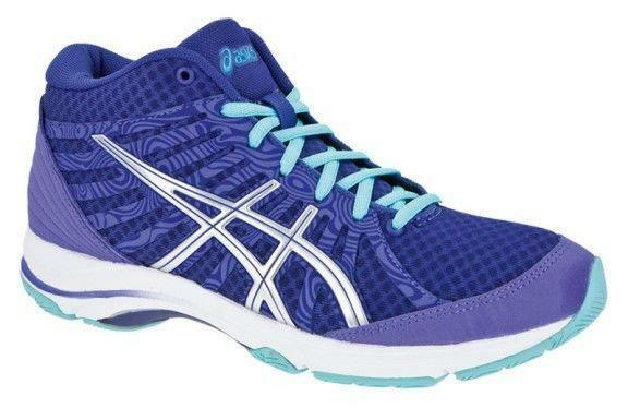 Damenschuhe ASICS AYAMI-INTENT Walking Violet Textile Trainers S265Y 3691 UK 4