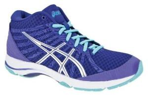 Image is loading Womens-ASICS-AYAMI-INTENT-Walking-Violet-Textile-Trainers- bf04c3d717