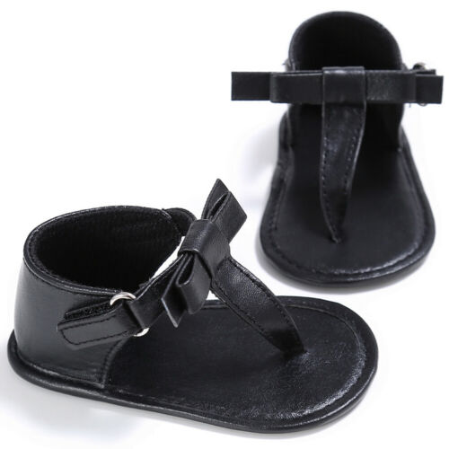 Summer Kid Toddler Baby Girl Soft Sandals Leather Bow Casual Party Princess Shoe