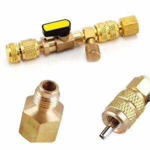 New-HVAC-AC-Schrader-Valve-Core-Remover-Dual-Size-Port-Installer-Tool-1-4-034-5-16-034