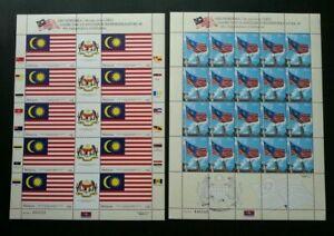 SJ-46th-Independence-Celebration-Malaysia-2003-Flag-sheetlet-MNH