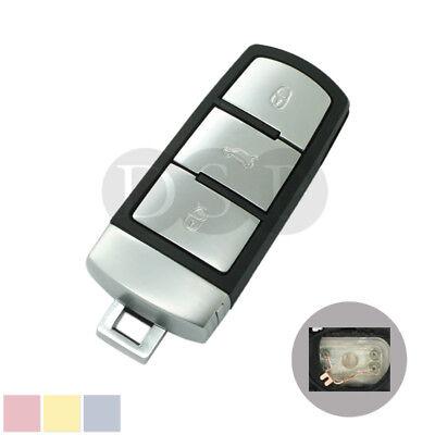 Smart Remote Key Case Shell fit for VOLKSWAGEN VW Passat CC Magotan Fob 3 Button