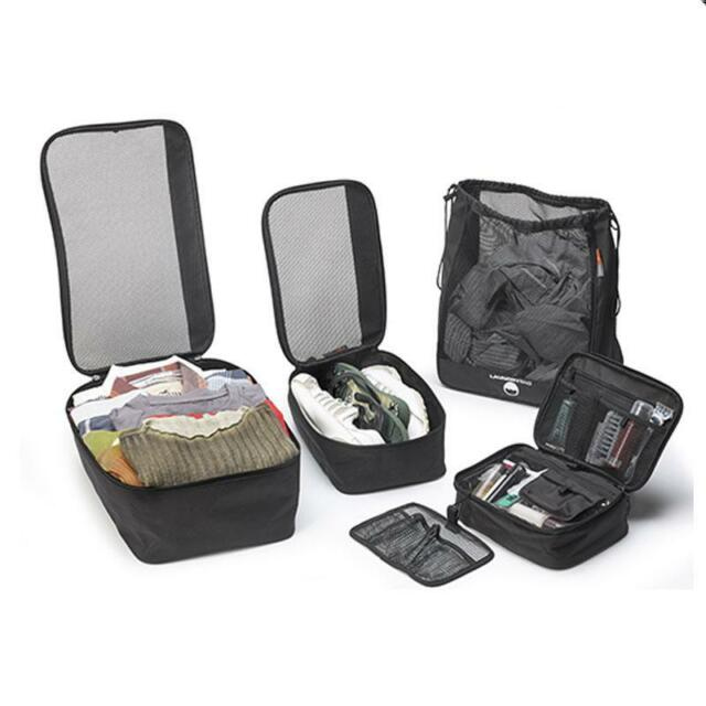 Givi Travel set T518. 4 piece travel set for Top Box and Pannier use