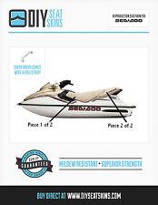 GTS GTX GTI SEADOO TAN Seat Skin Cover 96 97 98 99 00 1