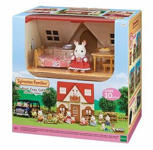 SYLVANIAN-FAMILIES-RED-ROOF-COSY-COTTAGE-TOY