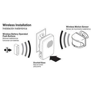 sc 1 th 225 & Hampton Bay Hb-7903-02 Wireless Motion Alert Door Bell Kit pezcame.com