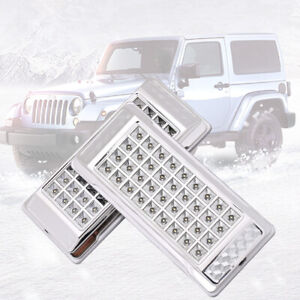 2-x-Bright-White-36-LED-Car-Van-Truck-Vehicle-Roof-Dome-Interior-Light-Lamp