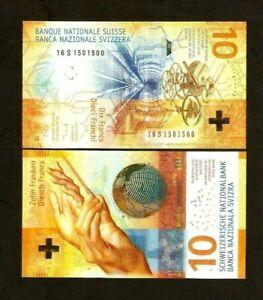 pour Pick New # Suisse Swiss 10 Francs 2017 unc