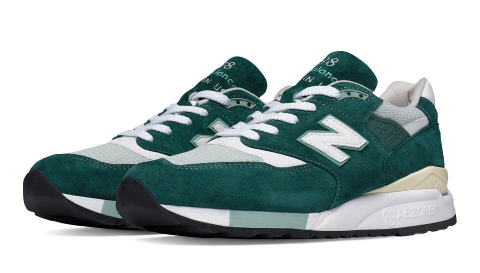 New New New Balance M998CSAM -MADE IN USA- 998  Explore by Sea  (Grün   Off Weiß) 6388f0
