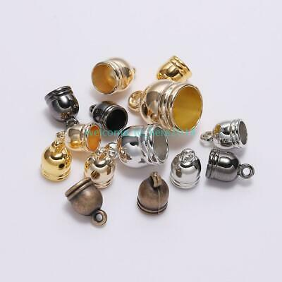 50PCS Antique Gold Fancy Decor Spacer Beads Jewelry Supplies