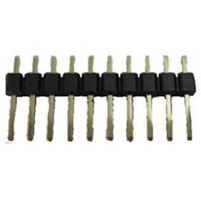 Single Row PCB Pin Header Connector 10 Way (Pack of 5)