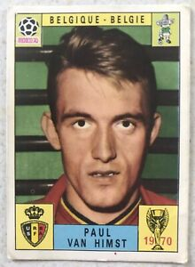 Panini Card Stickers World Cup Mexico 1970 Paul Van Himst From Escape to Victory