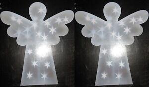 New-2-Indoor-44-x-51-Angel-Lights-Children-039-s-room-Ornament-Christmas-Nativity