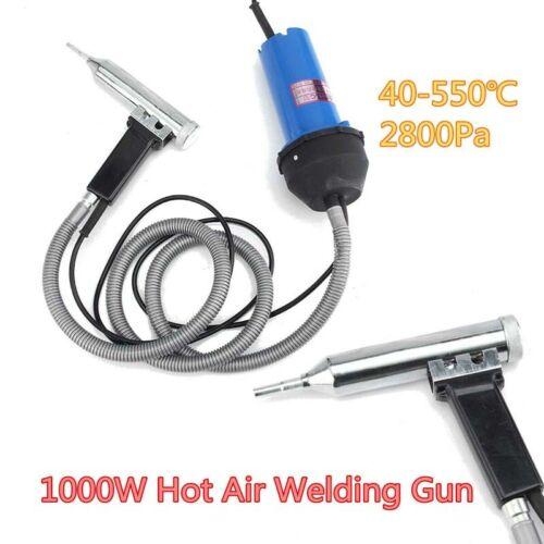 Pipe Power Supply Tools 1000W 220V Split Plastic Welder w// Hot Air Welding Gun